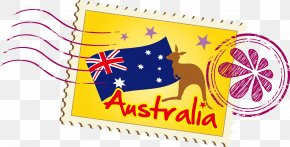 Stamps Australia Vector - Australia Illustration PNG