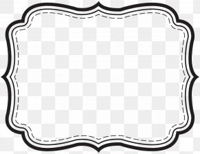 Label Border Cliparts - Template Label Microsoft Word Printing PNG