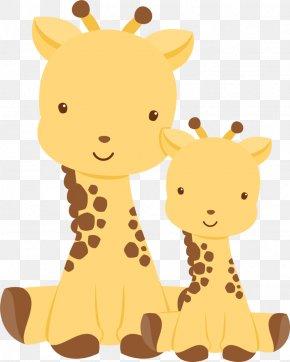 Vectores - Northern Giraffe Baby Shower Infant Wedding Invitation Clip Art PNG