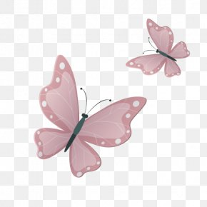 Pink Butterfly - Butterfly Google Images Download PNG