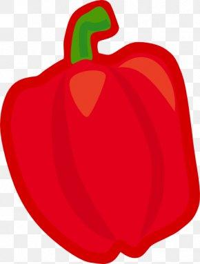 Vegtable Pictures - Bell Pepper Vegetable Chili Pepper Clip Art PNG