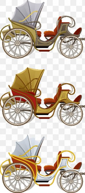 Painted Road Vehicle Traffic - Carriage Horse-drawn Vehicle Horse And Buggy PNG