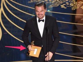 Leonardo Dicaprio - 88th Academy Awards 1st Academy Awards Academy Award For Best Actor PNG