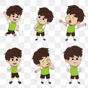 Cartoon Characters, Little Boy Posters, Decorative Expression Elements - Boy Cartoon Comics PNG