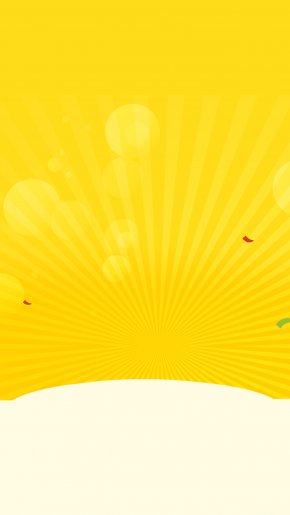 Golden Background Radiation - Yellow Gold Wallpaper PNG