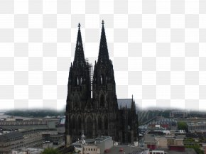 Cologne Cathedral Location - Cologne Cathedral Architecture Cartoon PNG