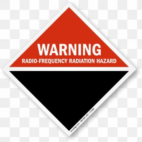 Hazard Sign Images - Radio Frequency Hazard Symbol Electromagnetic Radiation And Health Warning Sign PNG