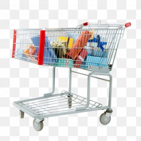Shopping Cart Creative - Shopping Cart Gift Online Shopping Taobao PNG