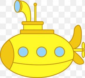 Cartoon Submarine - Yellow Submarine Clip Art PNG