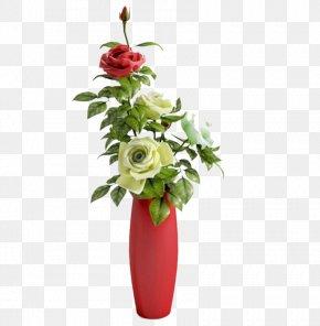 Vase - Vase Garden Roses 3D Modeling 3D Computer Graphics PNG