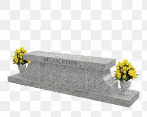 Stone Bench - Headstone Southern Illinois Monuments Memorial Bench Cemetery PNG
