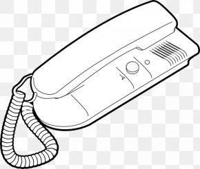 Telephone Icon - Telephone Line VoIP Phone Drawing Clip Art PNG