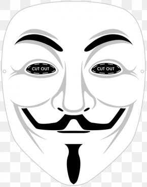 Mask - Gunpowder Plot Guy Fawkes Mask Guy Fawkes Night V PNG