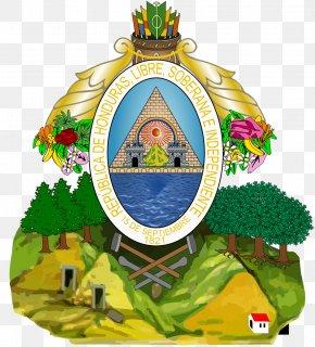 National Congress - Coat Of Arms Of Honduras Flag Of Honduras National Emblem PNG
