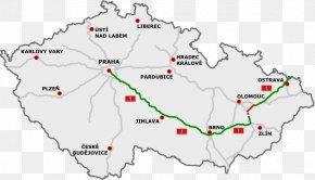 Road - D1 Motorway D55 Motorway Highways In The Czech Republic D56 Motorway D6 Motorway PNG