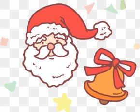 Santa Claus Christmas Bells Vector Material - Santa Claus Christmas Illustration PNG