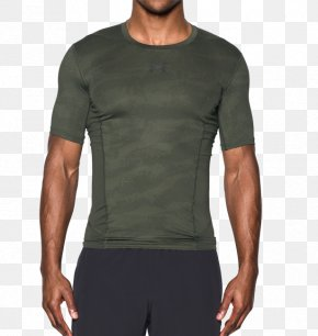 T-shirt - T-shirt Under Armour Sleeve Sneakers PNG