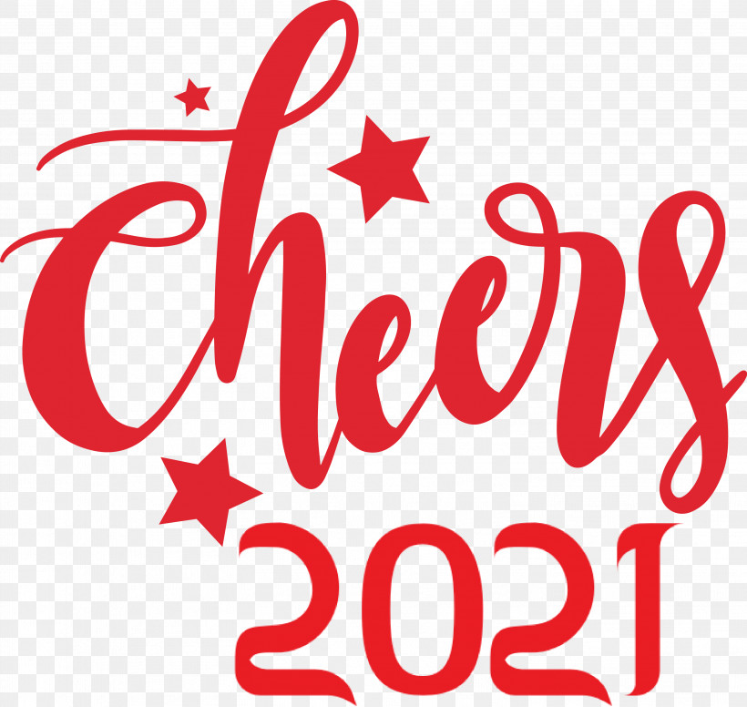 2021 Cheers New Year Cheers Cheers, PNG, 3012x2853px, Cheers, Geometry, Line, Logo, M Download Free