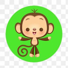 Cartoon Monkey - Chimpanzee Monkey Cartoon Cuteness Illustration PNG