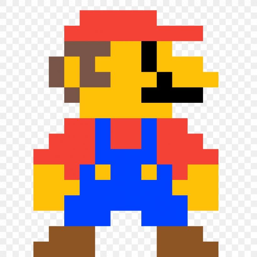 Super Mario Bros Luigi Pixel Art Png 1200x1200px Mario