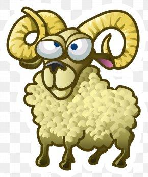 Sheep Vector - Goat Sheep Animal PNG