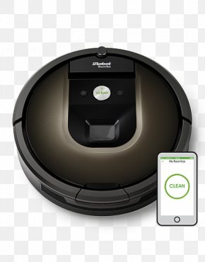 Robotic Vacuum Cleaner - Robotic Vacuum Cleaner IRobot Roomba 980 PNG