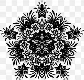 Floral Design - Floral Design Flower Symmetry PNG