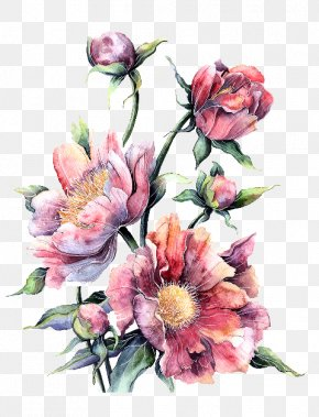 Flower - Watercolour Flowers Watercolor Painting Floral Design PNG