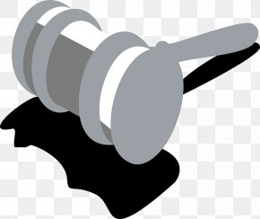 Hammer - Judge Hammer Lawyer Justice Clip Art PNG