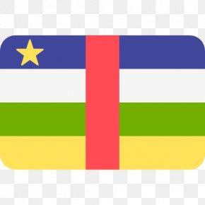 Flag - Flag Of The Central African Republic Ubangi-Shari National Flag PNG