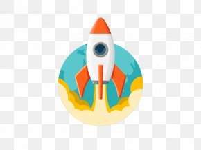 Flat Rocket - Rocket Gratis Download PNG