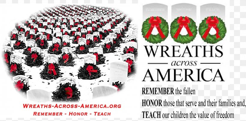 Arlington National Wreaths Across America Headquarters Memorial Day Veteran, PNG, 2276x1121px, Arlington, Body Jewelry, Brand, Cemetery, Christmas Download Free