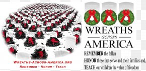 Arlington National Wreaths Across America Headquarters Memorial Day Veteran PNG