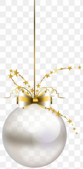 Transparent Christmas Ball Clipart - Christmas Ornament Ball Clip Art PNG