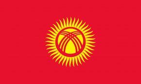 Kyrgyzstan Flag - Flag Of Kyrgyzstan National Flag Flag Of Kazakhstan PNG