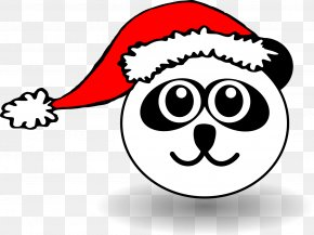 Santa Hat On Picture - The Cat In The Hat Santa Claus Clip Art PNG