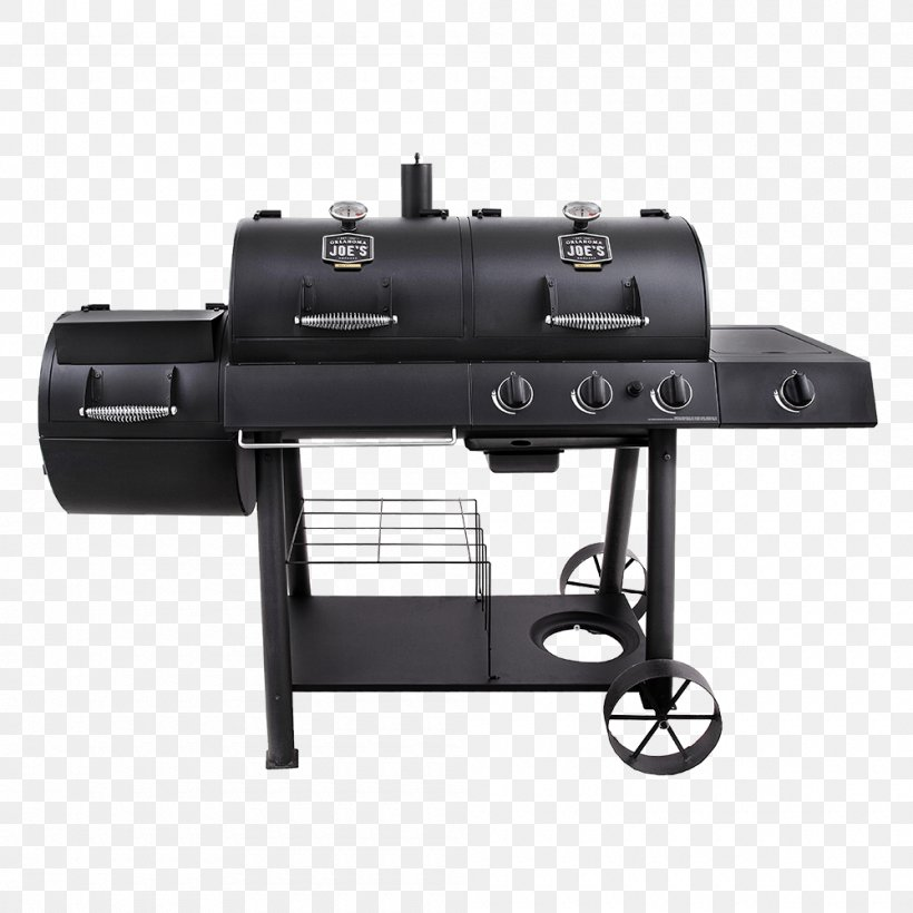 Barbecue BBQ Smoker Smoking Grilling Oklahoma Joe's, PNG, 1000x1000px, Barbecue, Bbq Smoker, Brenner, Brisket, Charbroil Download Free