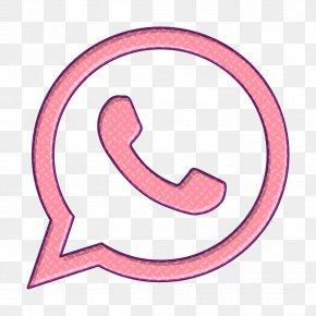 Symbol Pink - Call Icon Social Icon Social Media Icon PNG