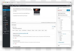 WordPress - Computer Program Adobe Lightroom WordPress Content Management System Adobe Systems PNG