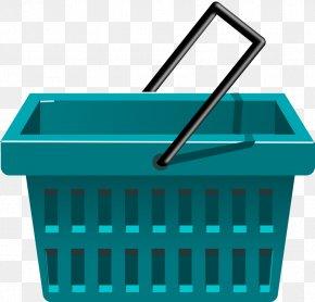 Fruit Basket Clipart - Shopping Cart Basket Clip Art PNG