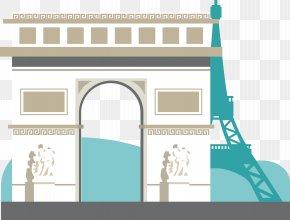 Europe House - Arc De Triomphe Jungfrau Eiffel Tower Tourism PNG