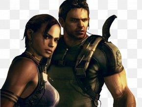 Resident Evil - Resident Evil 5 Chris Redfield Albert Wesker Resident Evil Outbreak: File #2 Jill Valentine PNG