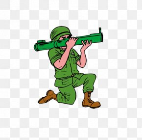 Creative Force,Military Material,Be A Soldier - Soldier Cartoon Military Personnel Clip Art PNG