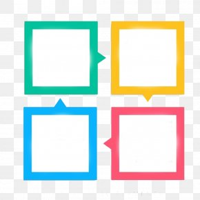 Dialog Box, Type PPT Decorative Square - Icon PNG
