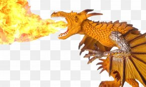 Flame Dragon Model - Breath Of Fire III Dragon Fire Breathing Flame PNG