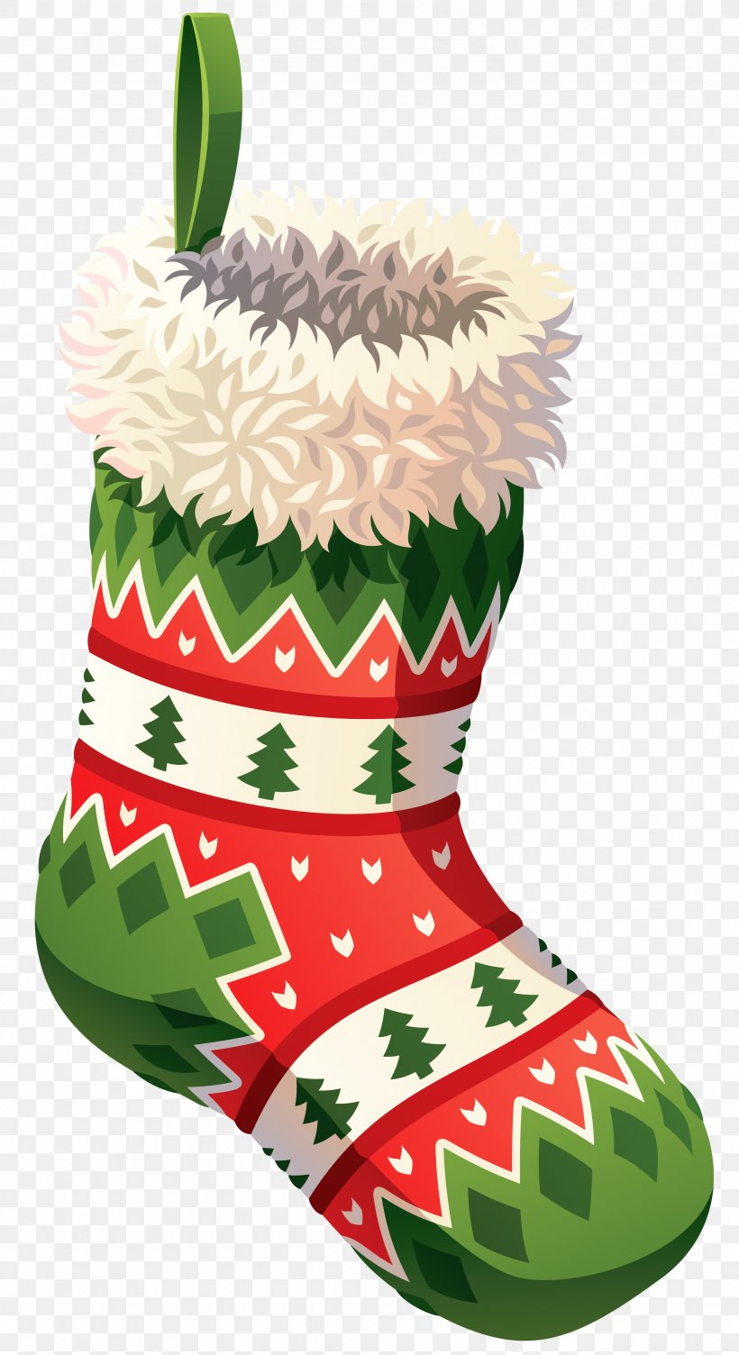Christmas Stockings Png.Christmas Stocking Clip Art Png 3389x6218px Santa Claus