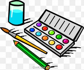 Painting - Watercolor Painting Paintbrush Clip Art PNG