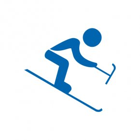 Alpine Skiing Cliparts - Winter Olympic Games 2014 Winter Paralympics Paralympic Games Alpine Skiing PNG