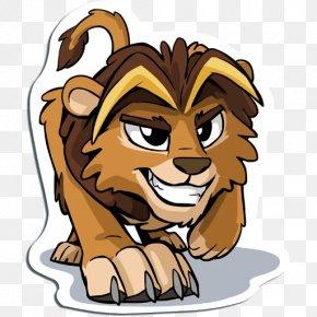 Lion - Lion Tiger Cat Content Clip Art PNG