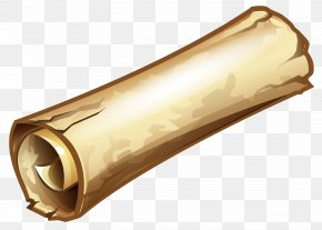 Old Scroll Clipart Image - Scroll Clip Art PNG